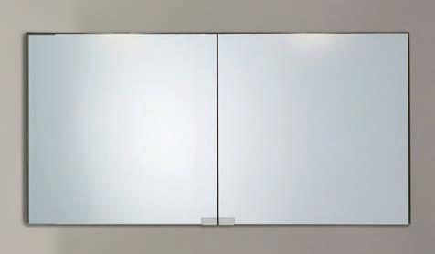 Spiegelschrank - Leuchte L8 - 2 Türen, 120cm breit