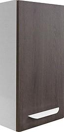 """Hängeschrank """"LAVELLA"""" Weiss/Eiche Cognac 35cm breit von FACKELMANN"""