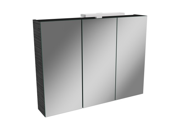Spiegelschrank - Leuchte L2 LED - 3 Türen, 80cm breit