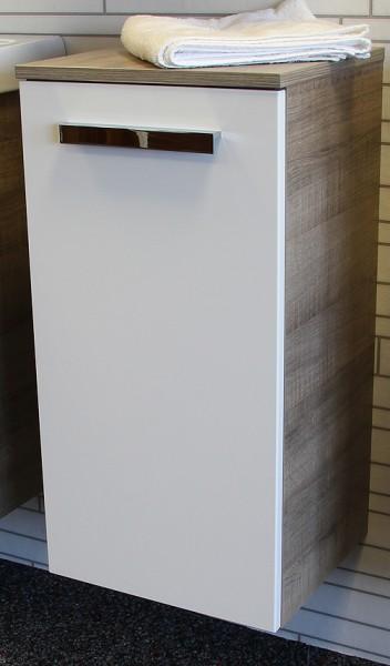 """Unterschrank """"A-VERO"""" Eiche/Weiss 35 cm breit von FACKELMANN"""