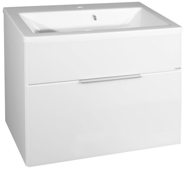 """Waschbeckenunterbau """"KARA"""" White 80 cm breit von FACKELMANN"""