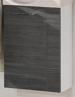 """Gäste-WC Waschtisch-Unterschrank """"VADEA"""" Weiss/Pinie-Anthrazit 44 cm breit von FACKELMANN"""