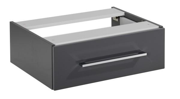 Unterbauschrank HYPE Anthrazit 60 cm breit mit 1 Schublade von FACKELMANN