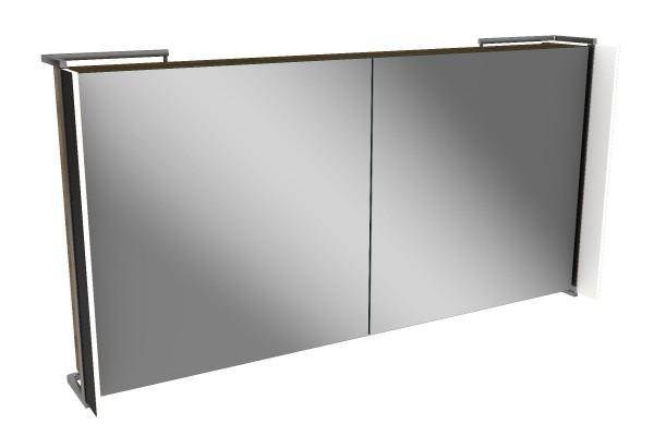 Spiegelschrank - Sidewing - 2 Türen, 120cm breit