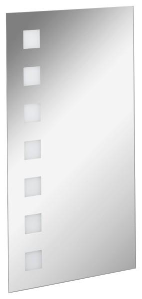Spiegelelement Karo Light 40cm breit von FACKELMANN
