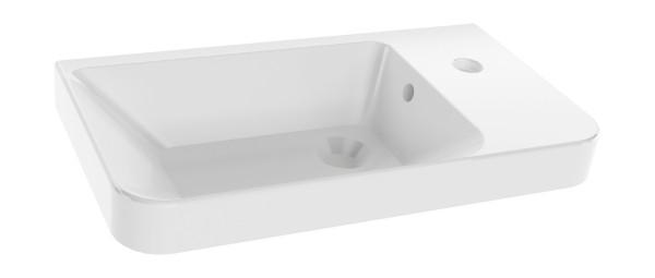 Gäste-WC Keramikwaschtisch 55 cm breit von FACKELMANN