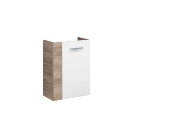 """Mini-Waschtischunterschrank """"Luxor"""" Steinesche/Weiß 45 cm breit von FACKELMANN"""