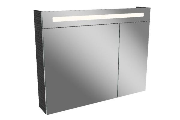 Spiegelschrank LN 90 cm breit 2 Türen von FACKELMANN